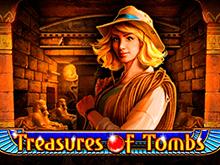 Игровой слот Treasures of Tombs